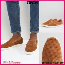 ★Base London Clipper Suede Espadrille Slip Ons in Tan