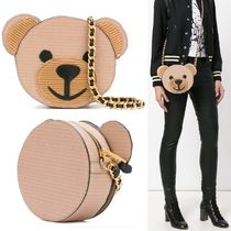【Moschino】Toy Bear テディベア 丸形 ポシェット