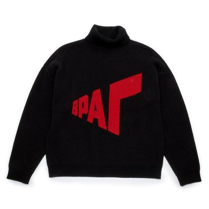 18AW Gosha Rubchinskiy Graphic Knit (Black)