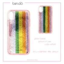 ban.do【国内発送】glitter bomb iphone X case - COLOR WHEEL