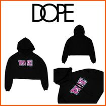 DOPE couture(ドープクチュール) パーカー・フーディ 18-19AW最新作!**日本未入荷☆DOPE**AIRBRUSHED CROPPED HOODIE