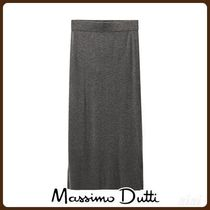 MassimoDutti♪KNIT PENCIL SKIRT