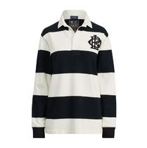 暑い夏 はじまる Monogram Cotton Rugby Shirt