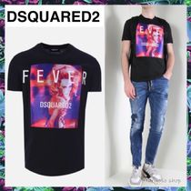 D SQUARED2(ディースクエアード) Tシャツ・カットソー VIP価格★D SQUARED2★FeverプリントTシャツ