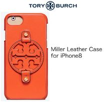 [Tory Burch] Miller Leather Case ☆レザー製 ☆iPhone8 #48663