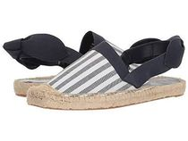 LAUREN Striped Canvas Espadrille エスパドリーユ