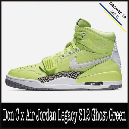 ★【NIKE】追跡発送 Don C x Air Jordan Legacy 312 Ghost Green