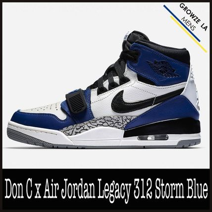 ★【NIKE】追跡発送 Don C x Air Jordan Legacy 312 Storm Blue