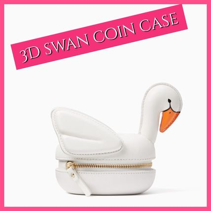 kate spade / コインケース / 3D swan coin case