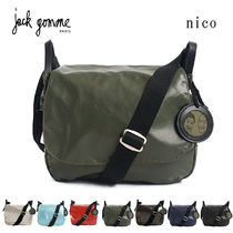JACK GOMME(ジャックゴム) ショルダーバッグ・ポシェット 国内即日発送◆jack gomme ショルダーバッグ Light nico 1569