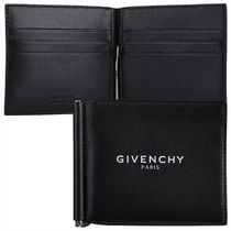 GIVENCHY 18AW ロゴプリント マネークリップ_BLACK