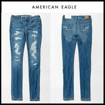 ☆American Eagle Outfitters☆ ダメージジェギンスパンツ