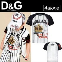 DOLCE & GABBANA☆BOYS☆ROYAL KING Tシャツ
