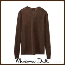 MassimoDutti♪SOLID-COLOURED WOOL AND CASHMERE SWEATER