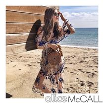 Alice Mccall(アリスマッコール) ワンピース alice Mc CALL 新作ワンピース MIRAGE GOWN NUDE&BLUE