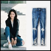 American Eagle Outfitters(アメリカンイーグル) デニム・ジーパン ☆American Eagle Outfitters☆ Denim crop jogging pants