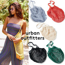 ☆Urban Outfitters コットン*ネットトートバッグ/6色☆送関込