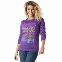 ☆ZUMBA・ズンバ☆Throwback Retro Headliner Top PL
