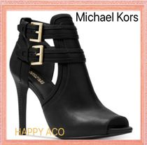 夏秋OK★Michael Kors【国内発】Blaze Peep-Toe Dress Booties