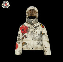 2018-19AW MONCLER CAILLE プリントダウンジャケット 本店買付