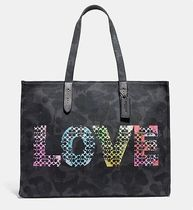 Coach ◆ 39727 Tote 42 with Love x Jason Naylor