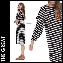 ★追跡&関税込【THE GREAT】ワンピース/The Raglan Ruffle Dress
