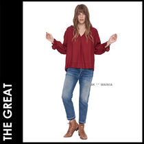 ★追跡&関税込【THE GREAT】The Long Sleeve Story Top