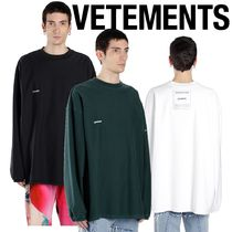 【VETEMENTS】18-19AW★シャークプリントロンT★送料・関税込み