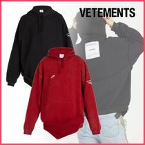 VETEMENTS(ヴェトモン)Inside-out フード付きスウェット◆2color