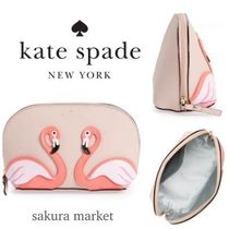 ☆kate spade new york☆恋愛運UP☆フラミンゴのポーチ