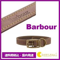 Barbour(バブアー) 首輪・ハーネス・リード 【老舗★Barbour】LEATHER DOG COLLAR レザー ドッグ 首輪