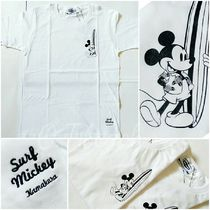 鎌倉限定★Disney/SURF MICKEY/T-SHIRT/BORN TO SURF★KAMAKURA