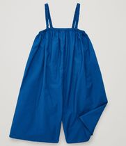 """COS(コス) キッズワンピース・オールインワン """"COS KIDS"""" COTTON JUMPSUIT WITH STRAPS BLUE"""
