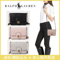 国内発送☆Ralph Lauren☆Faux-Lizard Crossbody Bag