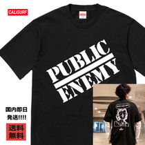 【最短2日】シュプリーム Public Enemy Blow Your Mind T /L/黒