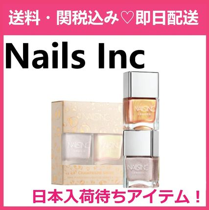 NAILS INC ネイルズインク Champagne Shine Nail Polish Duo