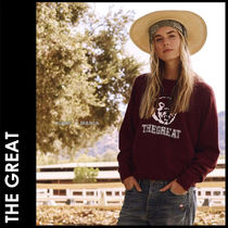 ★追跡&関税込【THE GREAT】新作/The College Sweatshirt