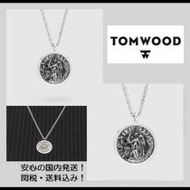 2018新作【関税&送料込】**Tom Wood**Coin Pendant Angel/2size