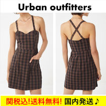 【送料関税込!!】☆UO☆Volcom Dare 2 Bloom Plaid Dress