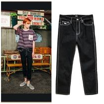 日本未入荷 WV PROJECTのRany stitch denim pants