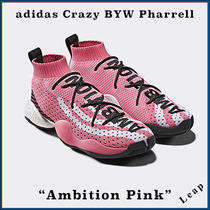 """【adidas】限定 激レア CRAZY BYW  Pharrell """"Ambition Pink"""""""