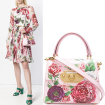 18-19AW DG1712 PEONY PRINT WELCOME BAG SMALL