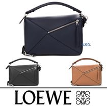 2018AW【LOEWE】3色展開 PUZZLE カーフ メッセンジャーバッグ