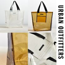 """""""Urban Outfitters"""" クリアバッグ  トートバッグ"""