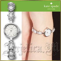 ★安心ヤマト便★Kate Spade White Star Chain Watch KSW1392