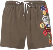 DSQUARED2☆セール★サマになる swimshorts / Bad Scout patches