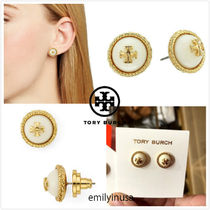 即発 Tory Burch★Rope Logo Stud Earrings ピアス*とても上品