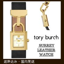 完売間近SALE!国内発送!Tory Burch SURREY LEATHER WATCH