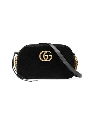 GUCCI ショルダーバッグ・ポシェット 【VIP SALE!!】GUCCI☆GG Marmont ロゴ付き クロスボディバッグ(13)