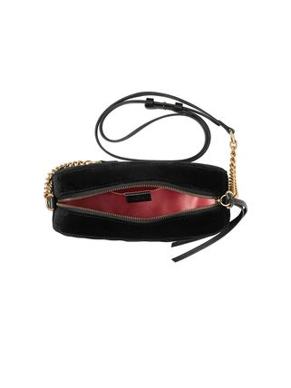 GUCCI ショルダーバッグ・ポシェット 【VIP SALE!!】GUCCI☆GG Marmont ロゴ付き クロスボディバッグ(14)